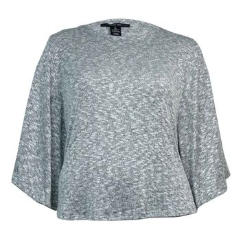 Style & Co. Women's Knit Poncho Sweater