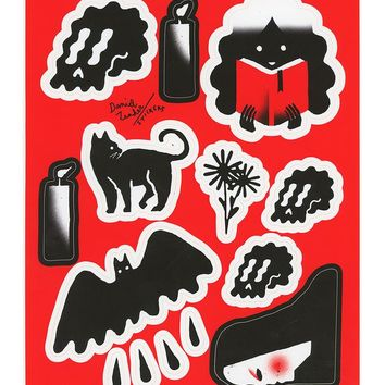 Daniel Zender Sticker Sheet