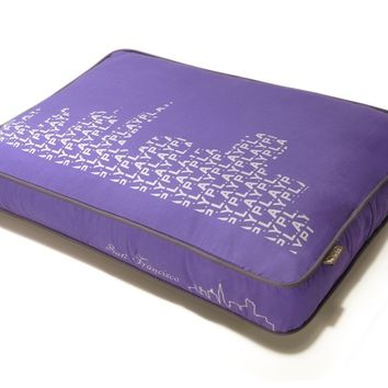 P.L.A.Y. SFyline Rectangular Bed - Lilac/Silver