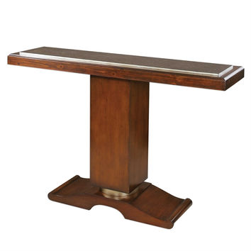 Taniel Pedestal Console Table