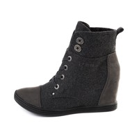 Womens Blowfish Topanga Wedge Boot, Gray | Journeys Shoes