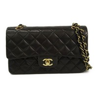Chanel Matelasse Classic Flap Small A01113 Women's Leather Shoulder Bag BF314002