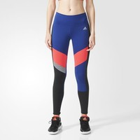 adidas Performer Mid-Rise Graphic Long Tights - Multicolor | adidas US