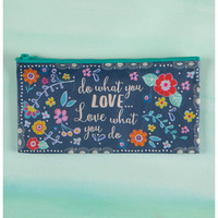 Natural Life Recycled Zipper Bag - What You Love