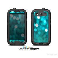 The Unfocused Subtle Blue Sparkle Skin For The Samsung Galaxy S3 LifeProof Case