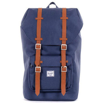 HERSCHEL SUPPLY CO LITTLE AMERICA BACKPACK IN NAVY
