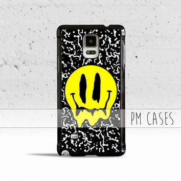 Melting Smiley Face Case Cover for Samsung Galaxy S3 S4 S5 S6 S7 Edge Plus Active Mini Note 3 4 5 7