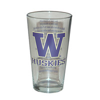 The Husky Shop - Husky Fight Song Pint Glass - Home & Office - University Book Store
