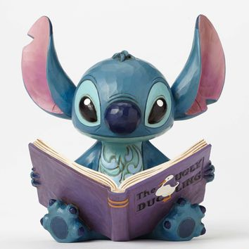 Disney Traditions Stitch Finding A Family Jim Shore New with Box