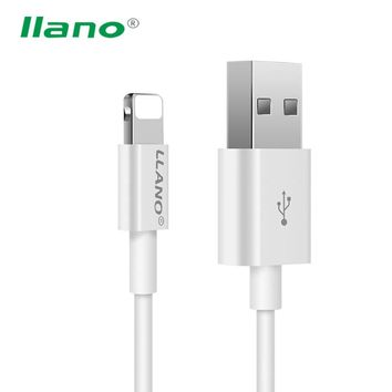 Robotsky USB Cable For iphone 7 6 Plus 5 iPad iPod High Quality 2 in 1 USB Charger Data Sync Line For iphone Fast Charging 1m