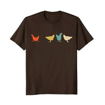 Vintage Chickens Shirt- Funny Cute Chicken Pet Owner Gift