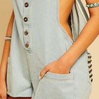 Countryside Studded Overalls