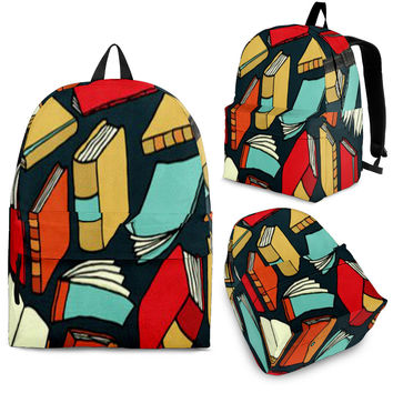 Author Writer Backpack Librarian Bag