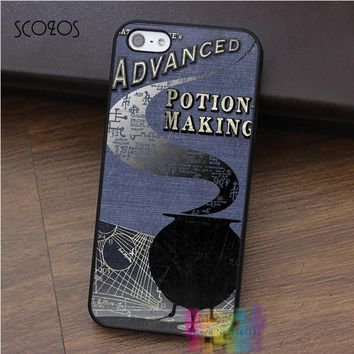 SCOZOS HARRY POTTER ADVANCED POTION MAKING case for iphone X 4 4s 5 5s 5c SE 6 6s 6 plus 6s plus 7 7 plus 8 8 plus #ey287