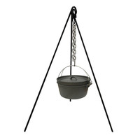 Cast Iron Camp Fire Tripod