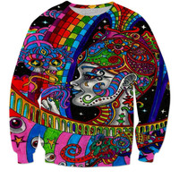 Trippy sweater
