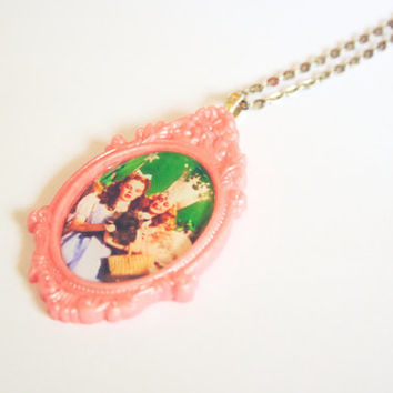 Wizard of Oz Necklace Dorothy and Galinda