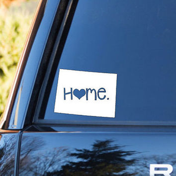 Colorado Home Decal | Colorado State Decal | Homestate Decals | Love Sticker | Love Decal  | Car Decal | Car Stickers | Bumper | 046