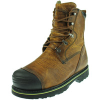 "Timberland Mens Warrick 10"" Smelter Leather Non-Marking Work Boots"