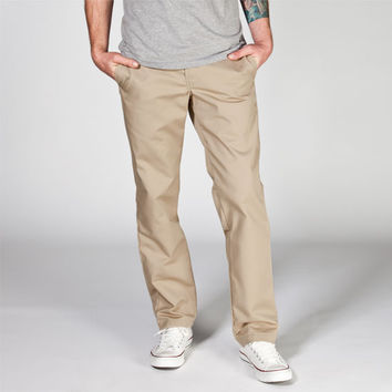 Dickies 830 Mens Slim Taper Pants Khaki  In Sizes
