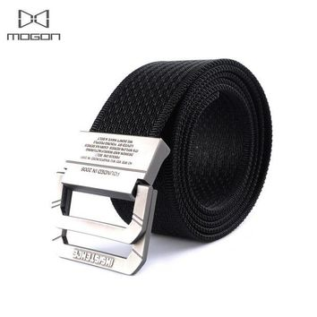 DCCKFS2 2018 New Arrival Sale Outdoor Army Tactical Belt Military Nylon Belts Mens Waist Swat Strap With Buckle Rappelling Three Color