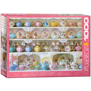The China Cabinet - 1000 Piece Jigsaw Puzzle