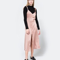 Farrow / Cecilia Slip Dress in Rose