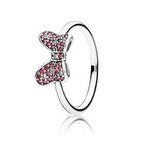 PANDORA - Disney, Minnie's Sparkling Bow Ring