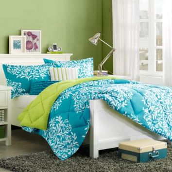 Cozy Soft® Folklore Reversible Comforter Set