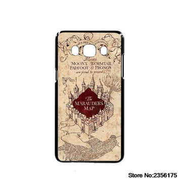 Marauders Map Harry Potter cell phone case cover  for Iphone 4S 5 5S 5C 6 6S Plus 7 7 Plus for Samsung galaxy S3/4/5/6/7