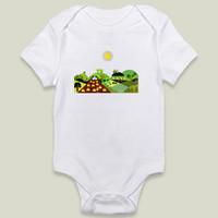 Valley farm Onesy by Design4uStudio on BoomBoomPrints