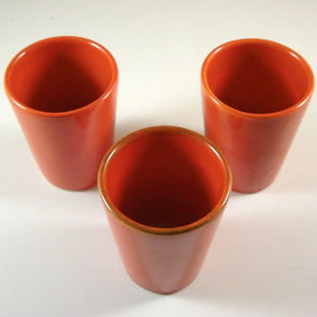 Metlox Poppytrail Series 200 Tumblers / Set of 3