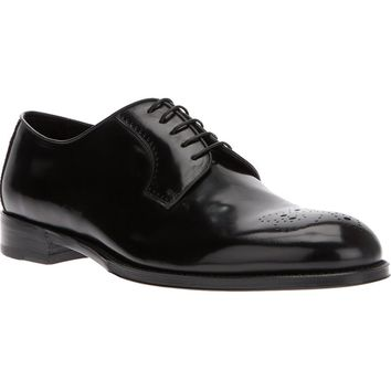 Brioni lace up shoe