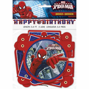 Spider-Man Large Jointed Banner