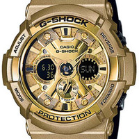 Casio Mens G-Shock Trending Series - Black & Gold - 200M WR