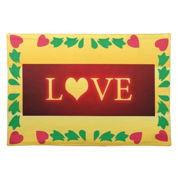 Love Cloth Placemat