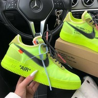 Nike Air Force 1 OFF-WHITE OW Casual shoes