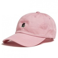 SHOP THE HUNDREDS | Rose strap-back cap