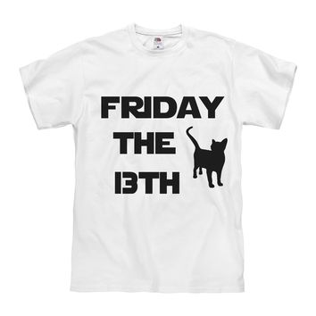 Friday The 13TH Tee Shirt Mens