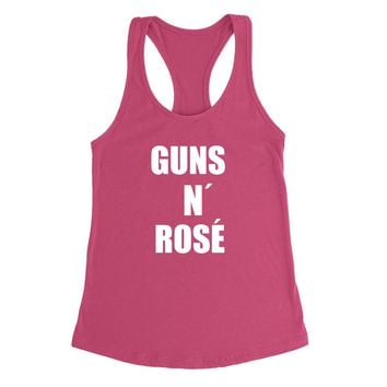Guns n Rose Women's Racerback Tank