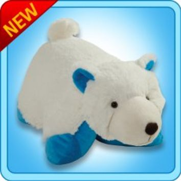 Pillow Pets®  Folding Plush :: Wintry Polar Bear - My Pillow Pets® | The Official Home of Pillow Pets®