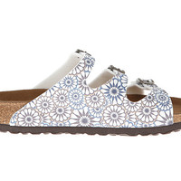 Birkenstock Florida by Papillio Kaleidoscope White - Zappos.com Free Shipping BOTH Ways
