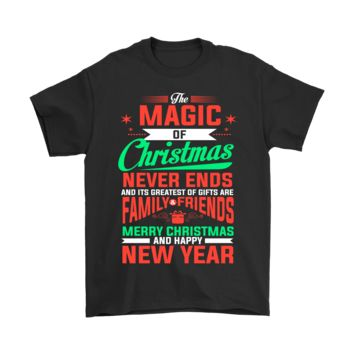 PEAP8HB The Magic Of Christmas Never End Friend And Family Shirts