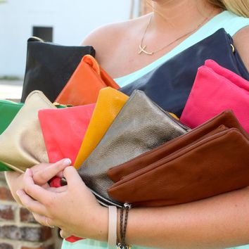 Liz Crossbody Bag - Multiple Colors Available (Includes Cross Body and Wristlet Straps) - Bags