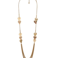 Arrowhead Chain Necklace | FOREVER21 - 1000047452