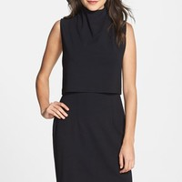 Women's French Connection Turtleneck Sleeveless Popover Dress