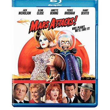 Tim Burton & Jack Nicholson & Glenn Close-Mars Attacks!