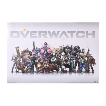 Overwatch Group Poster