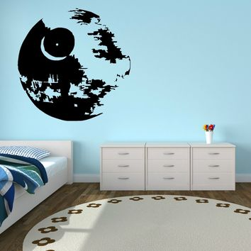 Star Wars Force Episode 1 2 3 4 5 D268  DEATH  Vinyl wall art sticker room decal scifi Creative Cool Picture room decoration AT_72_6