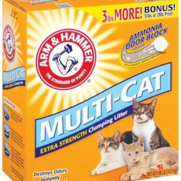 Multi Cat Litter Unscented -  31 Lb